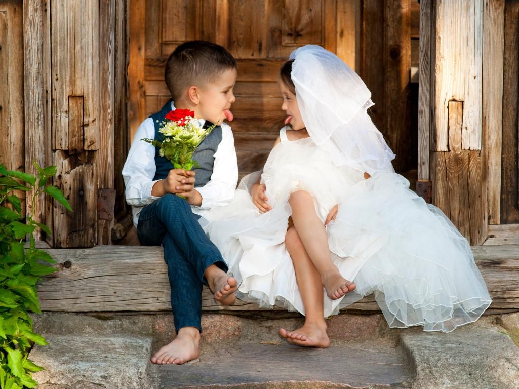 Bruiloft met of zonder kinderen?