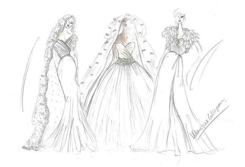 Design your own dream dress with Monique Collignon!